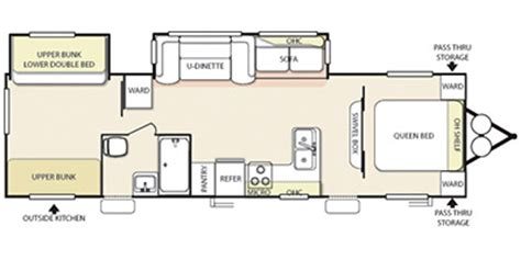 salem travel trailer floor plans 2013 salem by forest river m 32bhds specs and standard