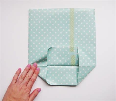 Make Wrapping Paper - how to make a gift bag out of wrapping paperwritings and