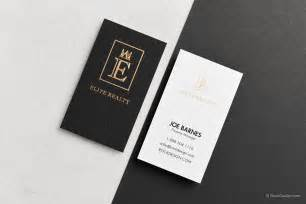 luxury real estate business cards luxury professional real estate suede duplex business card with gold foil elite realty