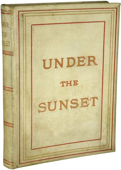 the sunset books the sunset book cover by bram stoker