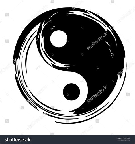 yin  vector symbol  shutterstock
