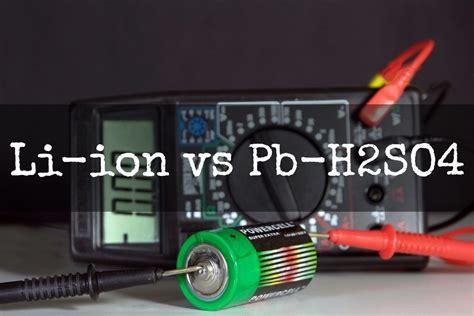 li ion battery vs lead acid deep cycle battery new vs