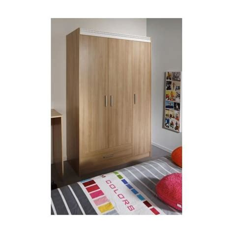 Armoire Vetement 273 by Giga Armoire Taille 112 X 180 X 51 Cm Achat Vente