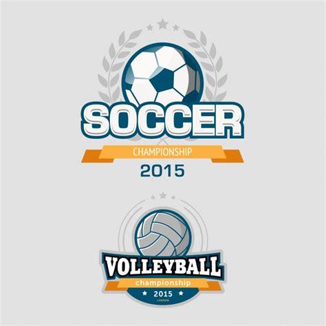 imagenes vectores logos set de plantilla de logos de deportes descargar vectores