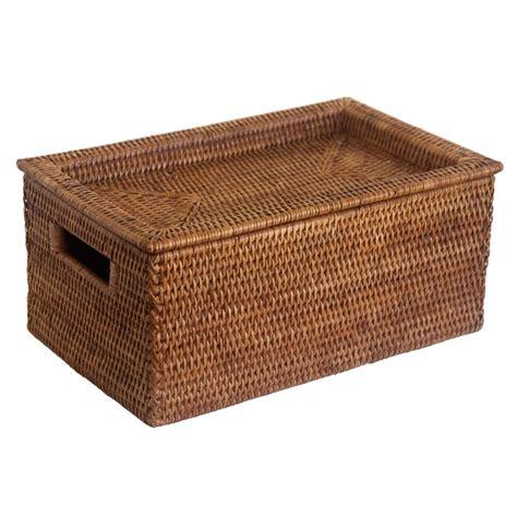 storage box with tray lid