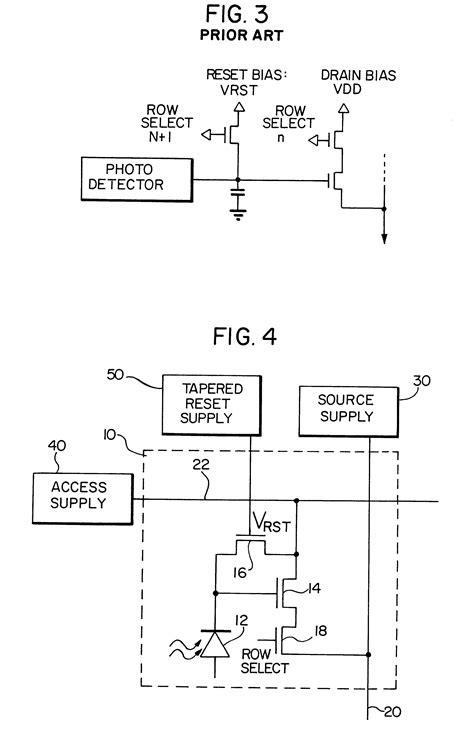 transistor restart patent us6697111 compact low noise active pixel sensor with progressive row reset
