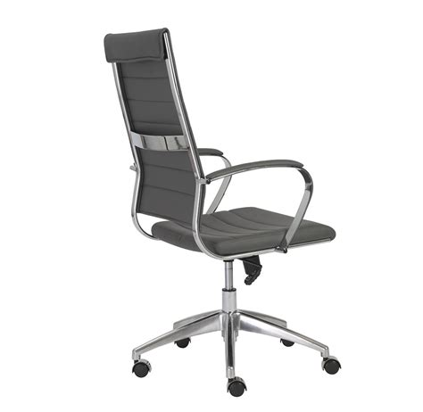 Office Chairs Gray Axel High Back Office Chair In Grey Office Chairs