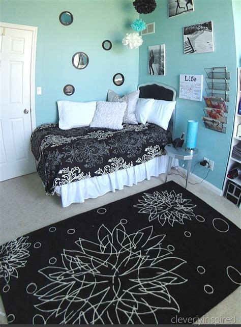 Teal And Gray Curtains Decorating Black And Teal Bedroom Decorating Ideas
