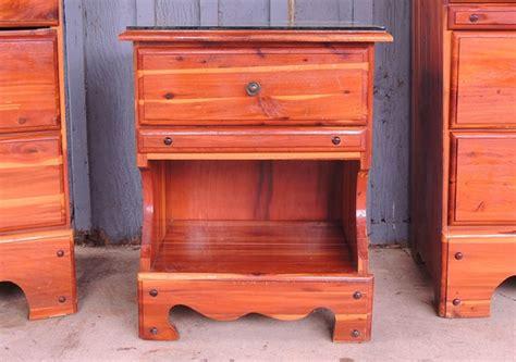 Cedar Nightstand by Cedar Stand Ebth