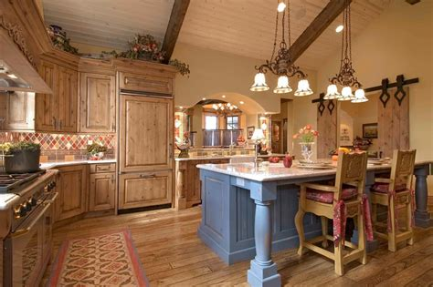country lighting for kitchen country styled kitchen special aspects of decoration
