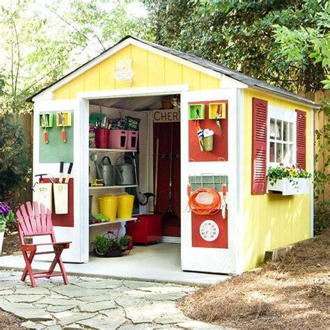 Shed Creative by Before And After Two Sheds Storage Solutions