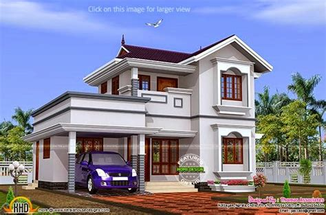 kerala house plans with estimate studio design