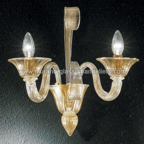 Murano Glass Sconces quot rodrigo quot murano glass sconce murano glass chandeliers