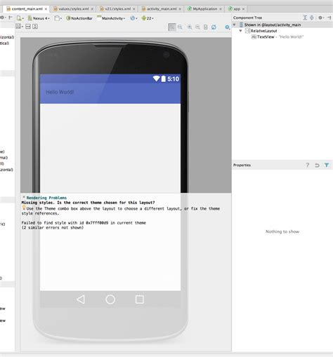 Android Studio Layout Preview Not Showing | android studio does not show layout preview stack overflow