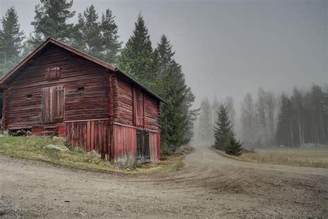 free photo sweden barn landscape free image on