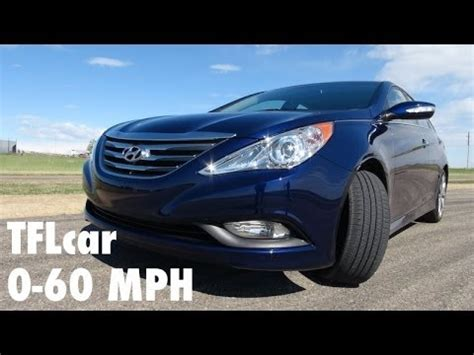 Hyundai Sonata 0 60 by 2014 Hyundai Sonata Turbo 0 60 Mph Review