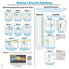 loom band unicorn printable instructions 1000 images about loom bands on pinterest loom bands