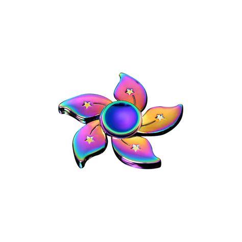Spinner Alumunium Rainbow rainbow fidget spinner metal multi colour spinner trending on ebay best styles ebay