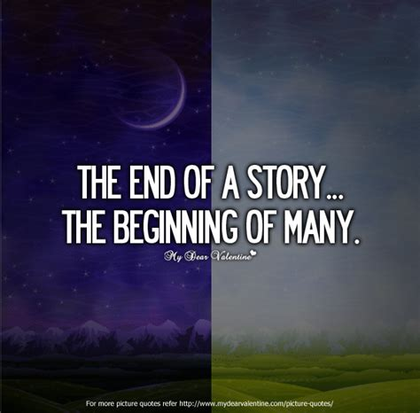In The Beginning Of The End Of The World end of the beginning quotes quotesgram