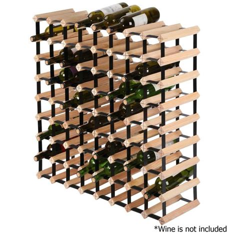 Wine Rack With Storage 72 bottle timber wine rack wine storage system buy sale