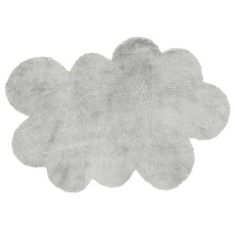 Tapis Nuage Blanc 2530 by Tapis Nuage Gris Clair Pilepoil Pour Chambre Enfant