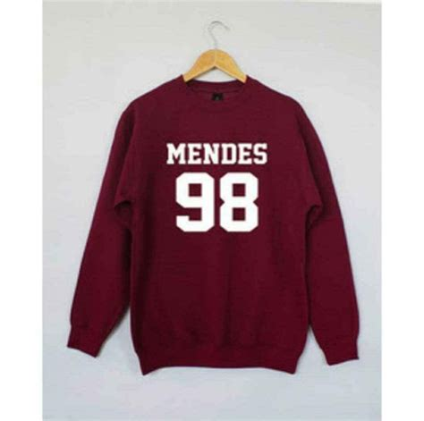 Get Mendess Charitable And Hoodie by Sweater Sweater Hockey Shawn Mendes Jumper Mendes