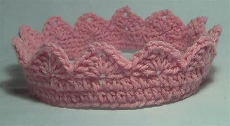 free crochet pattern for baby tiara crochet crown tiara free pattern tutorial crochet cricket