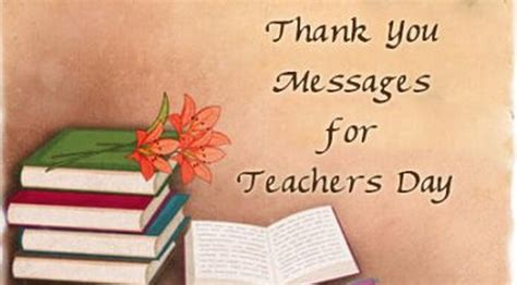 day thank you message thank you messages for teachers day