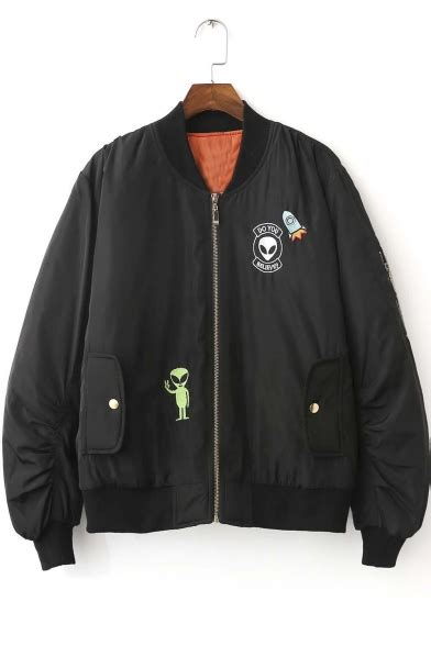 Embroidered Baseball Jacket new arrival fashion embroidered baseball jacket