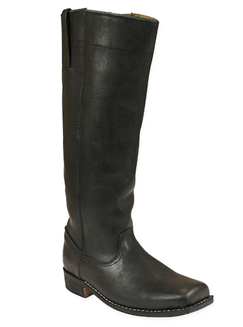 mens black leather riding boots mens riding long boot black leather