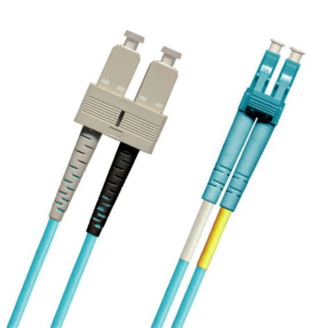 Patch Cord Optic Pc 15 Meter Lc To Lc Multimode Mm Optik sc lc fiber patch cable multimode 50 125m 10 gig om3