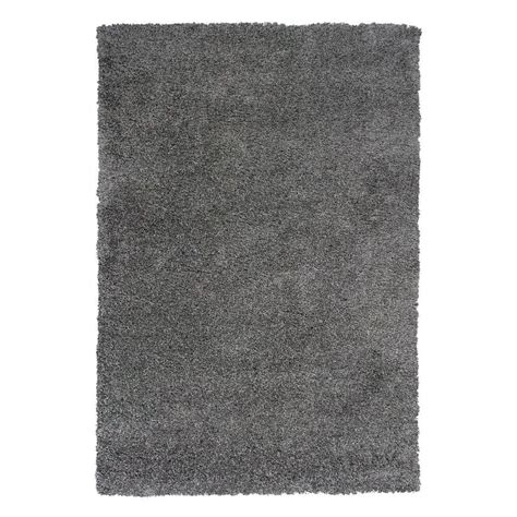 home depot shag area rugs kas rugs shag gray 5 ft 3 in x 7 ft 7 in area rug del116853x77 the home depot