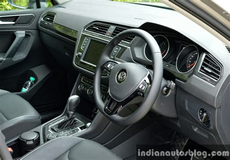 volkswagen tiguan 2017 interior 2017 vw tiguan interior first drive review indian autos blog