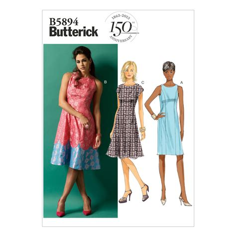 pattern universe sewing patterns butterick misses dress sewing pattern 373779 create