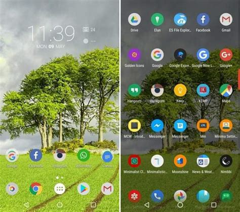 nova launcher themes top 10 top 10 best nova launcher themes amazing for android 2017