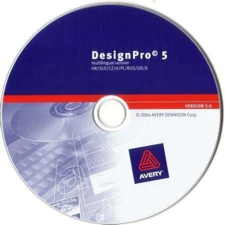 Avery Design Pro Vorlagen Erstellen Avery Designpro 5 Magyar Nyelv螻 C 237 Mketervez蜻 Szoftver Cd