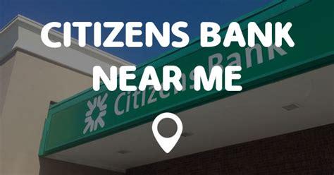 me bank banking citizens bank near me points near me
