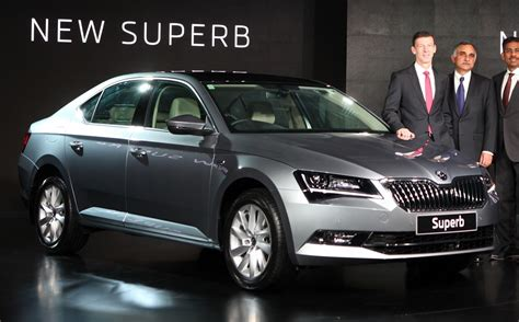 skoda india news third new superb launched price pics variants key