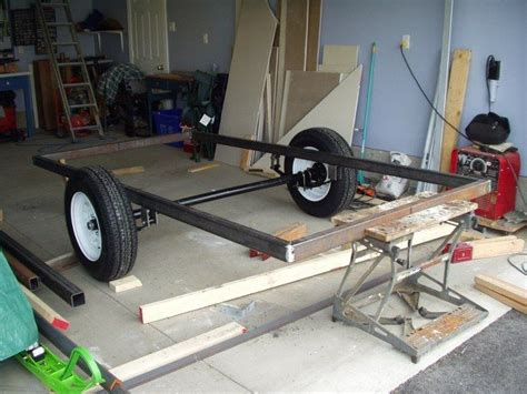 how to build a utility boat positioning the axle trailers y otros pinterest