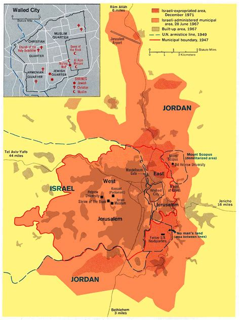 jerusalem israel map maps jerusalem
