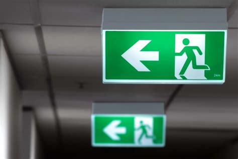 Lu Emergency Exit By Riory exit signs the regulations building managers need to