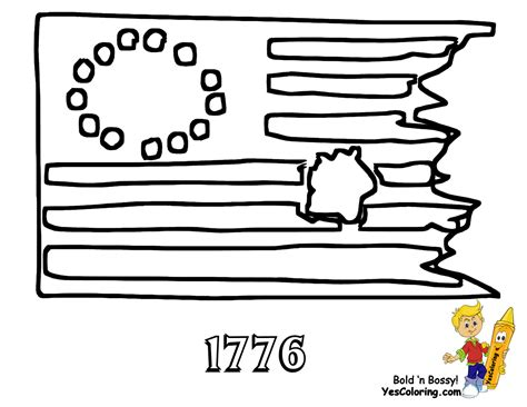 american revolution flag coloring page historic army coloring page military army picture