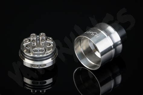 Rda Vape Lush Plus Silver 24mm By Wotofo Authentic lush plus 24mm rda by wotofo