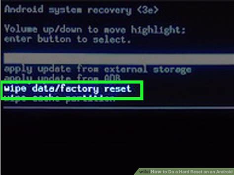 reset android data usage how to do a hard reset on an android 14 steps with pictures