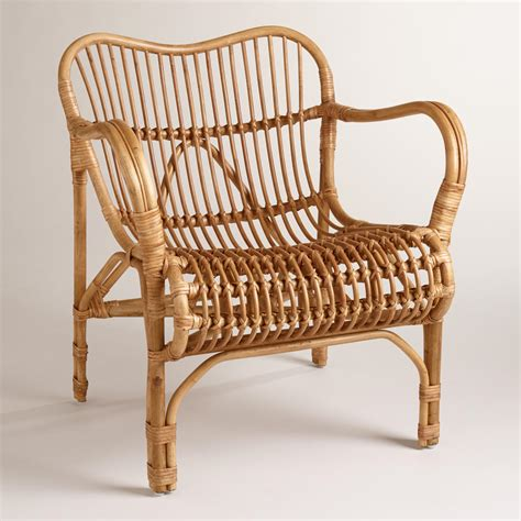 bamboo chair rattan cole chair world market