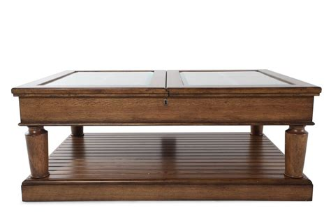 broyhill new vintage window pane coffee table mathis