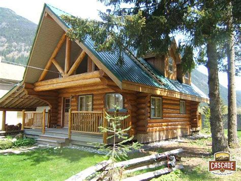 Handcrafted Log Homes - log homes post and beam cascade handcrafted log homes