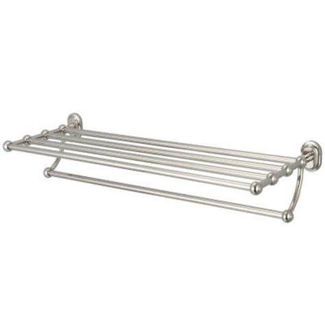 train rack bathroom shelf water creation 29 in towel bar and bath train rack in