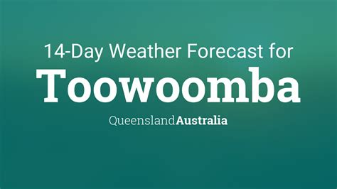 toowoomba queensland australia  day weather forecast