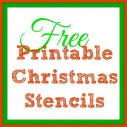 printable christmas stencils free printable christmas stencils christmas tree